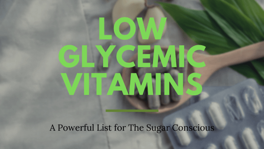 Low Glycemic Vitamins Blog Cover