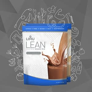 photo of limu lean shake pouches