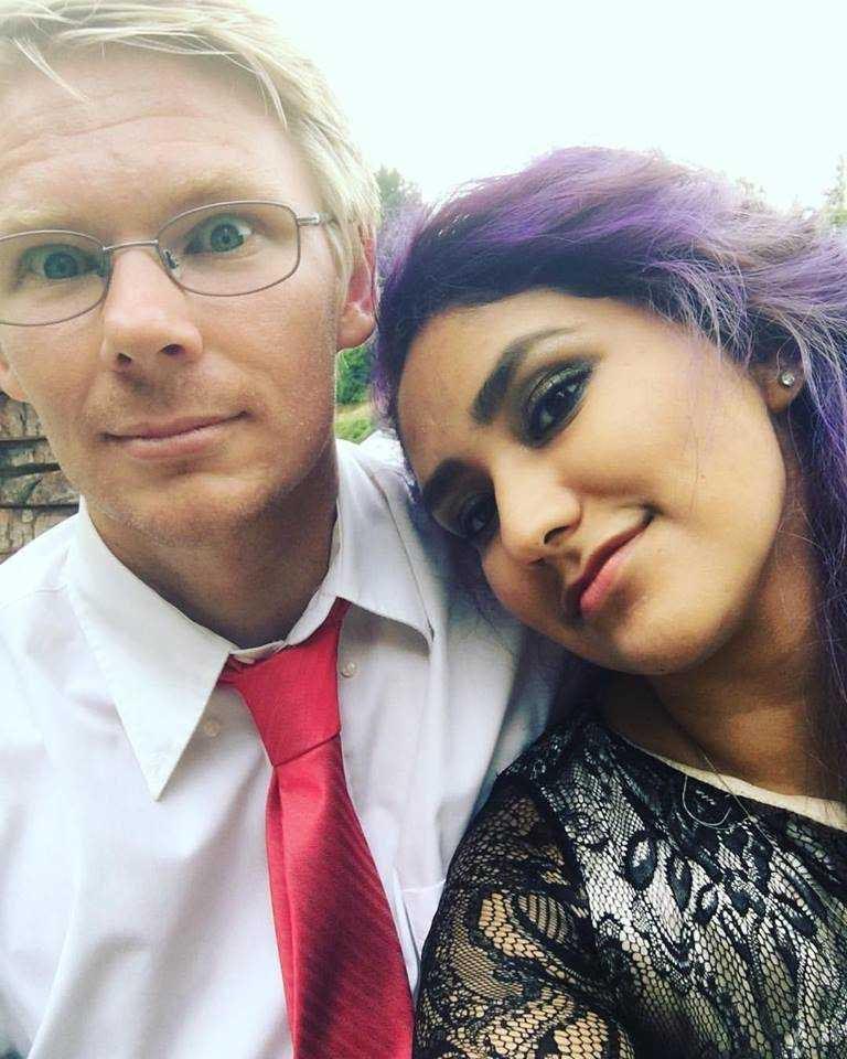 zeth dressed up with wife liliana