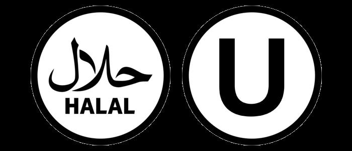 Halal & Kosher Certified Badges