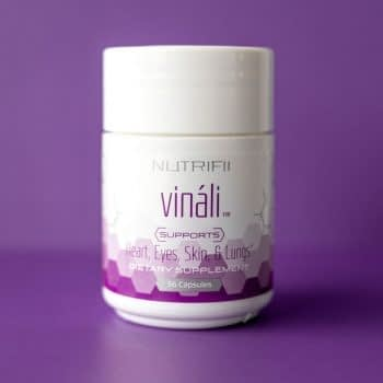 vinali by nutrifii ariix on purple background
