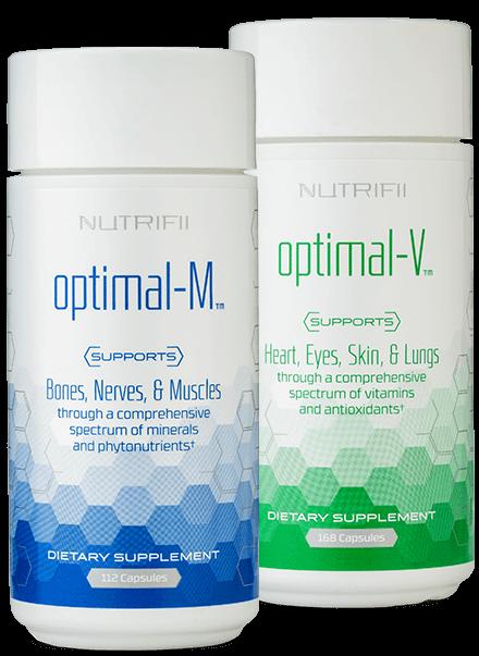Nutrifii Optimal-M & Optimal-V