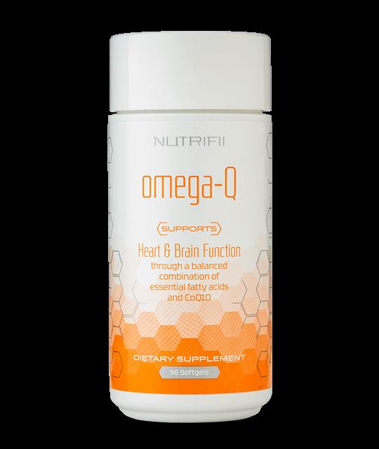 Omega-Q product image from brand Nutrifii and Ariix