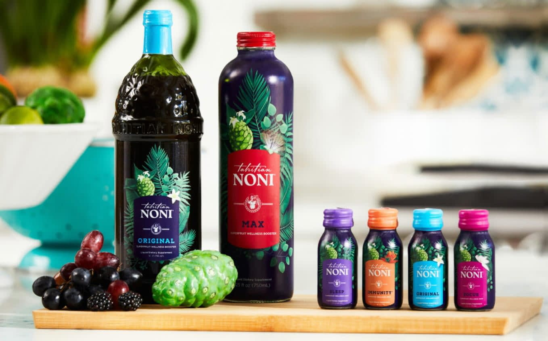 Tahitian Noni Juice and Noni Collagen Shots